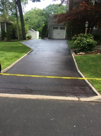 Oradell Asphalt Sealcoating After - Bergen County Sealcoating