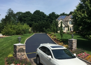 Paramus Asphalt Sealcoating After - Bergen County Sealcoating