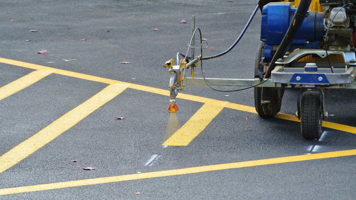 Line Striping - Bergen County Sealcoating