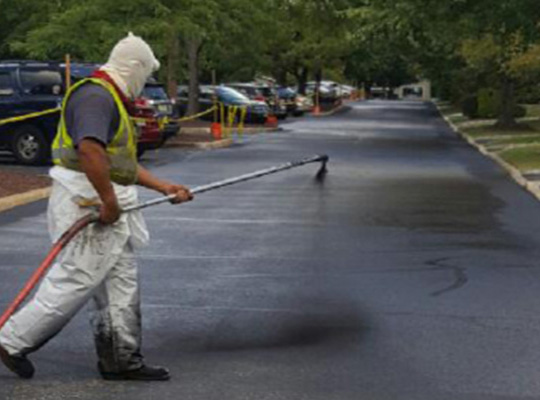 Sealcoating Residential Roadways - Bergen County Sealcoating